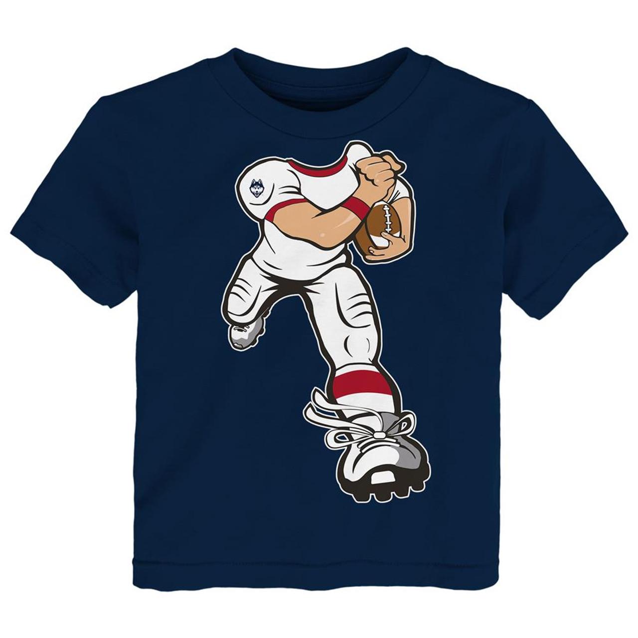 Toddler UCONN Connecticut Huskies Tee Yard Rush Toddler T-Shirt