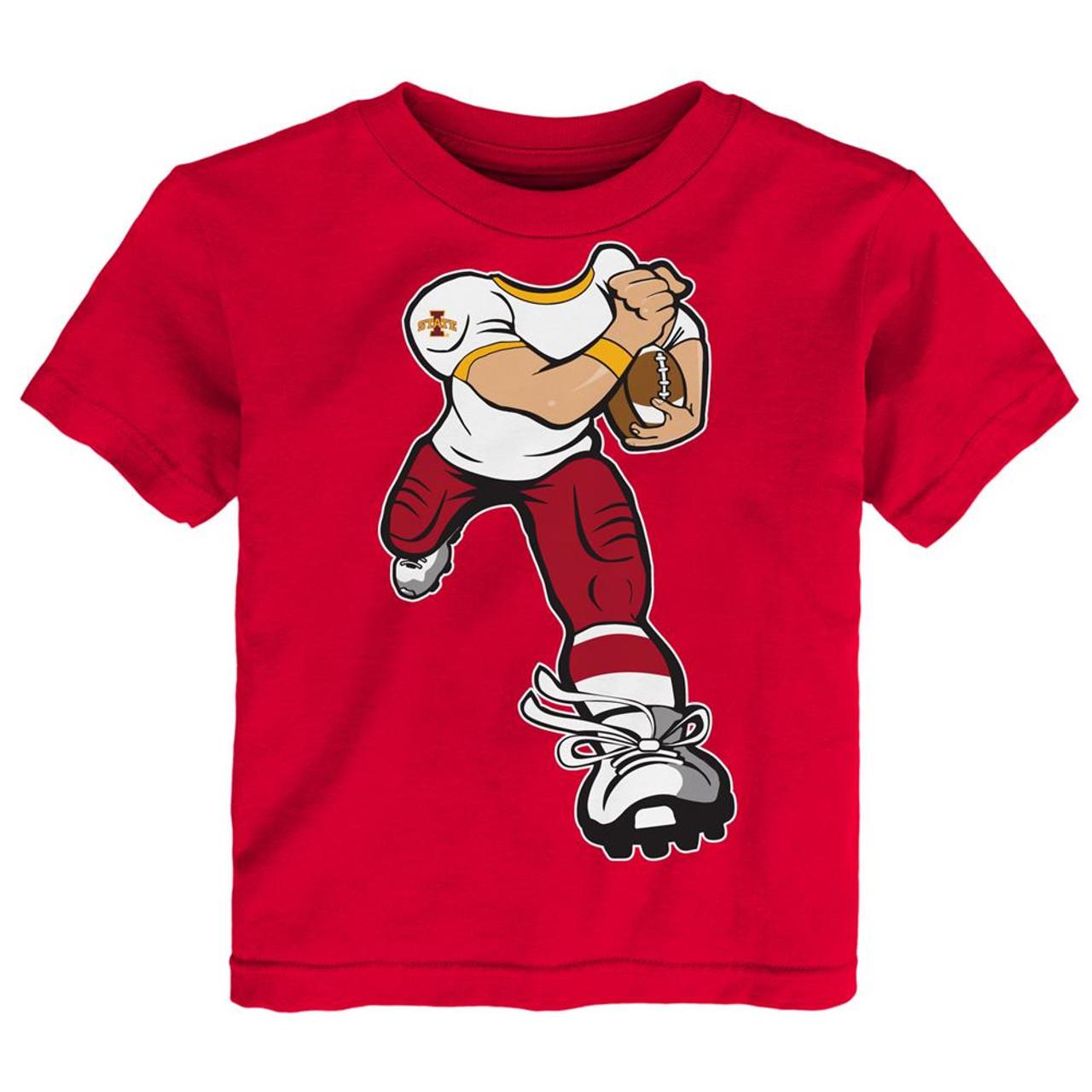 Toddler Iowa State Cyclones Tee Yard Rush Toddler T-Shirt