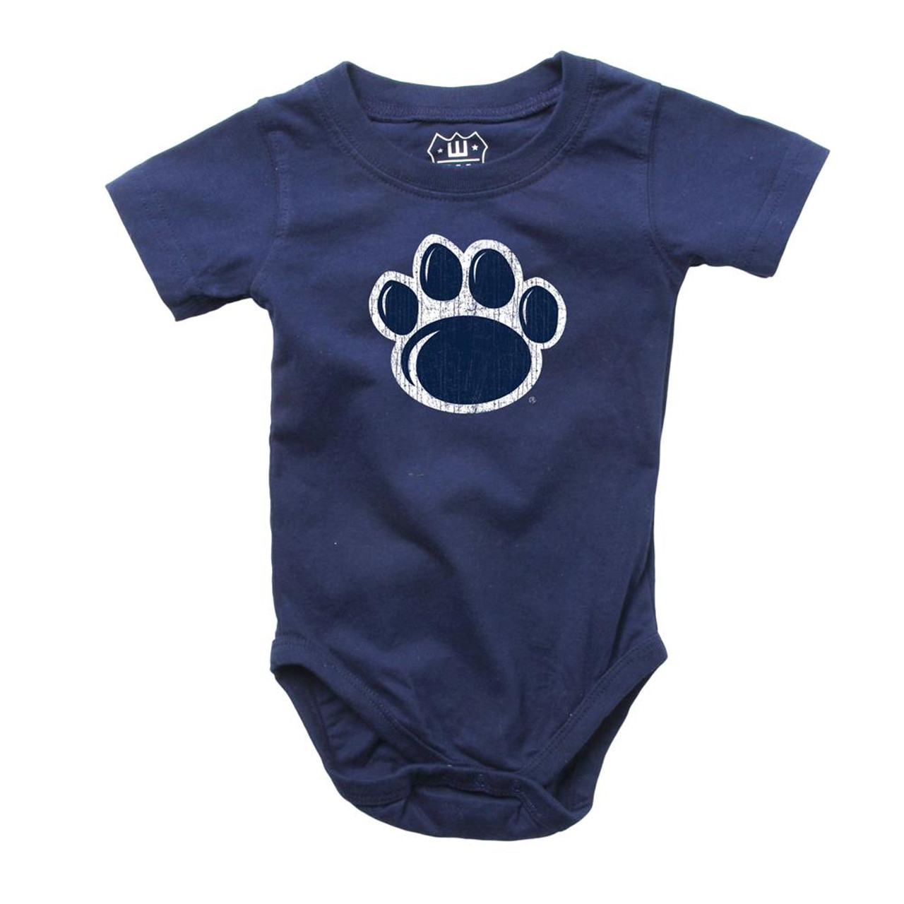 Infant Penn State University Bodysuits 3 Pack Organic Cotton Set