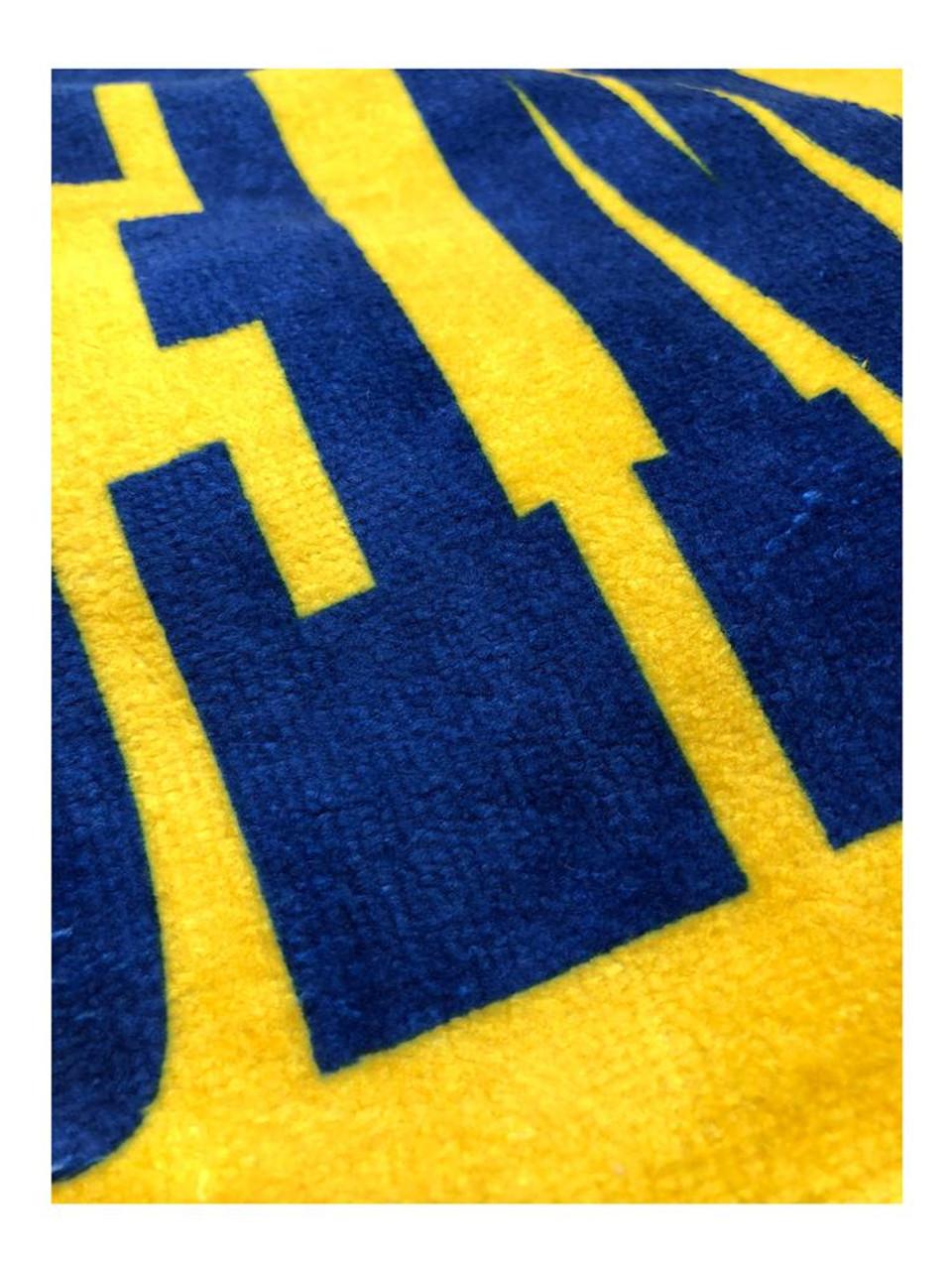 Oklahoma City Thunder Beach Towel 30 x 60 Spectra Beach Towel