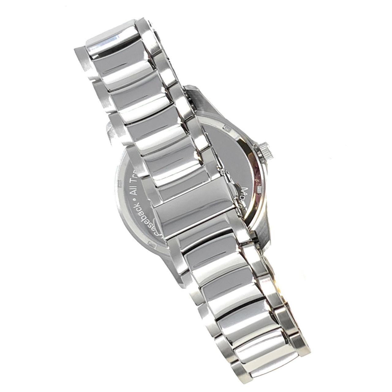 Mens New York Red Bulls Watch Stainless Steel Titan Watch