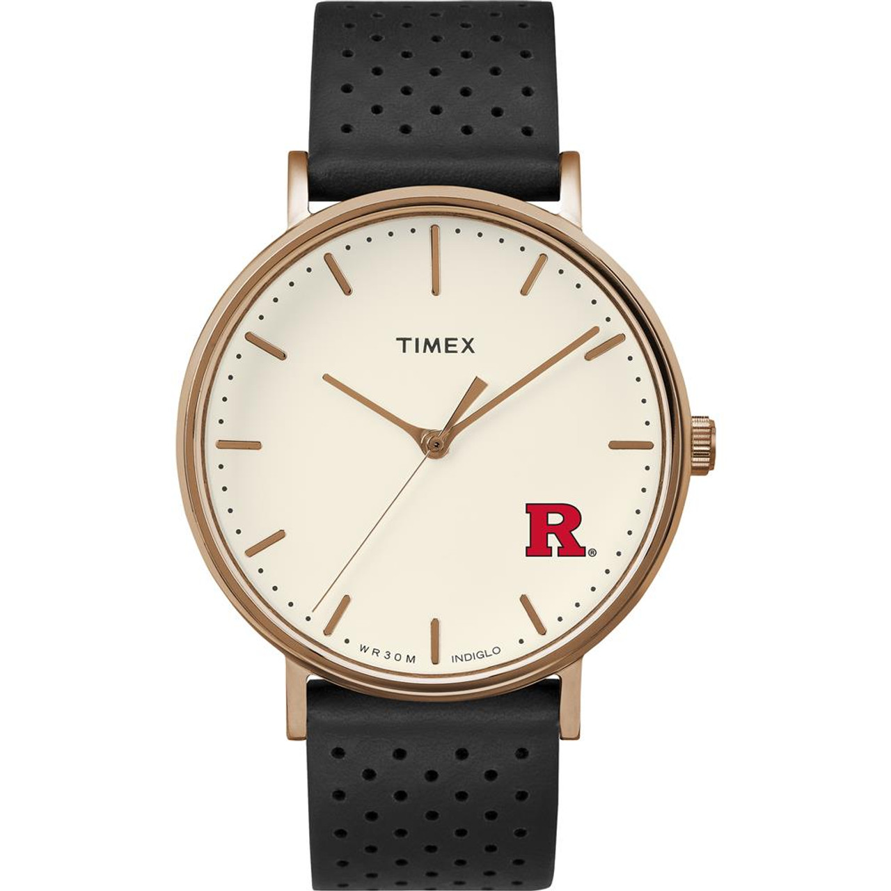 Ladies Timex Rutgers University Watch Rose Gold Grace Watch