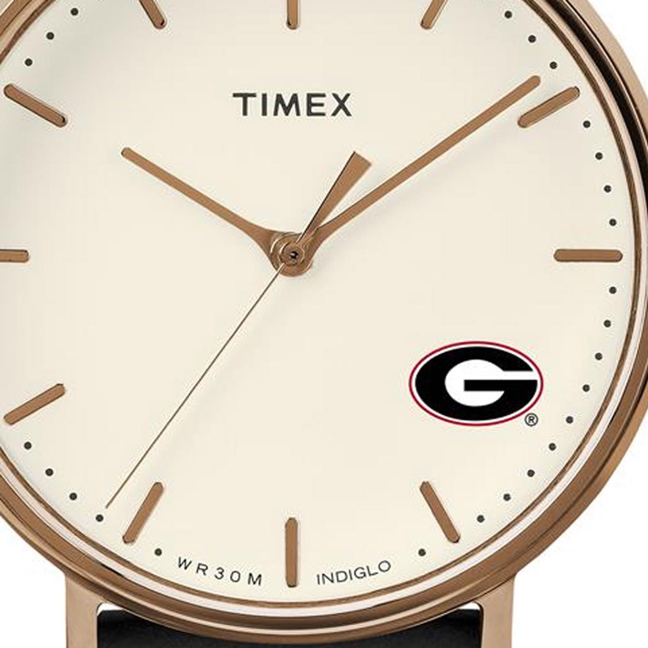 Ladies Timex Clemson University Tigers Watch Rose Gold Grace Watch
