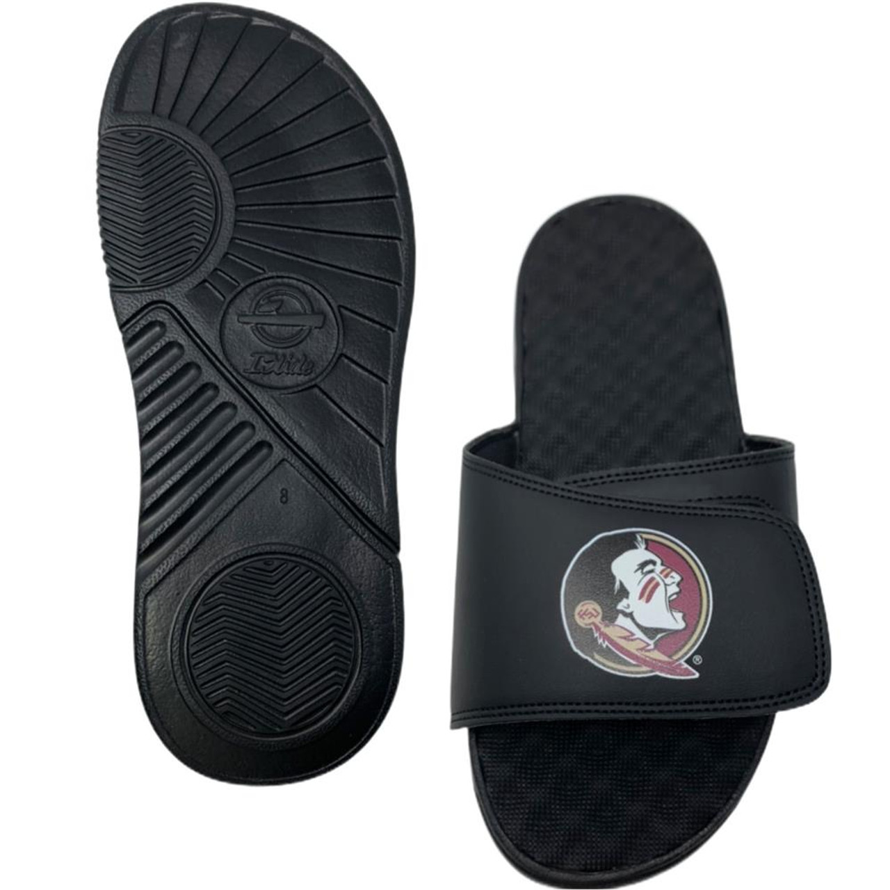 Milwaukee Bucks Slides ISlide Primary Adjustable Sandals