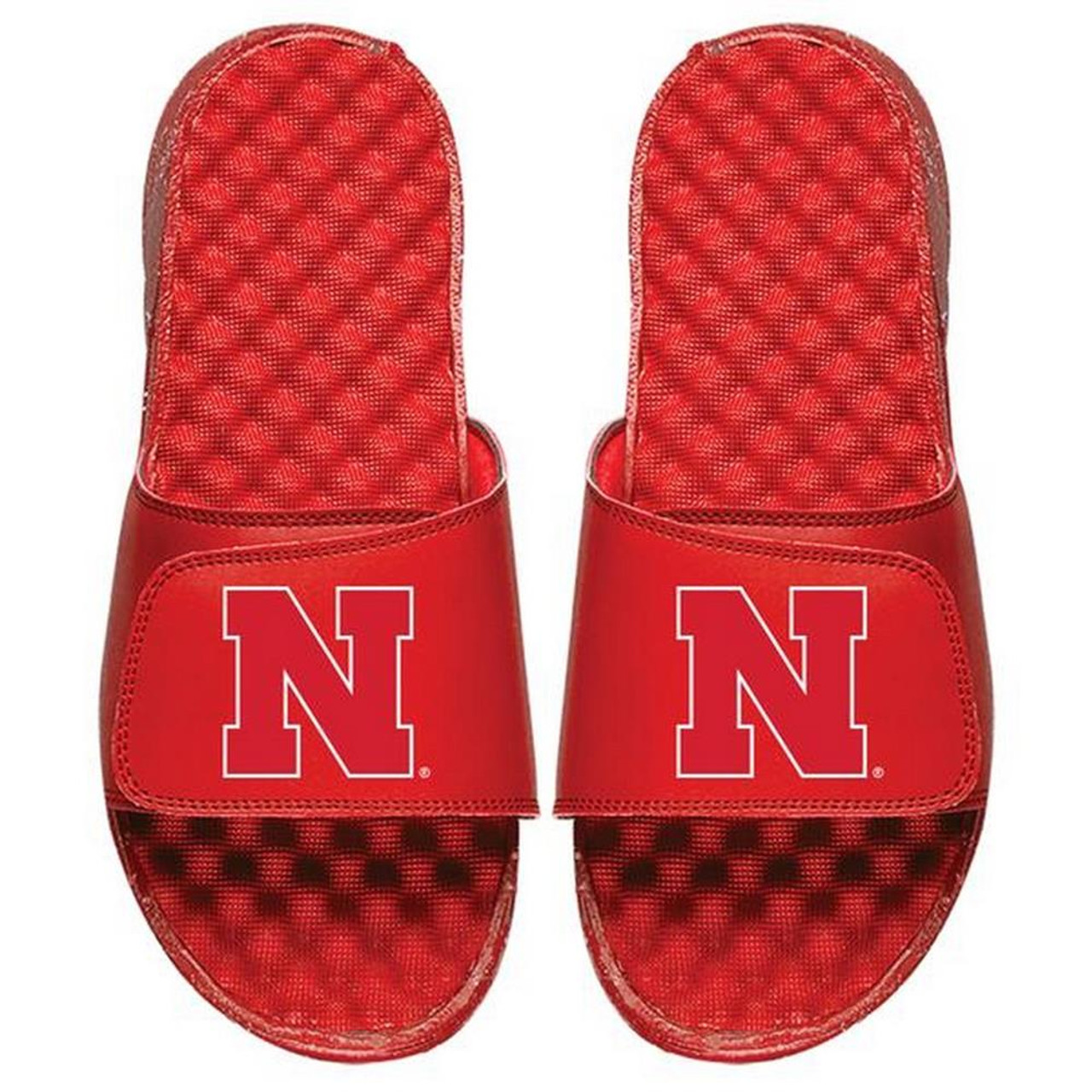 Nebraska Cornhuskers Slides ISlide Primary Adjustable Sandals