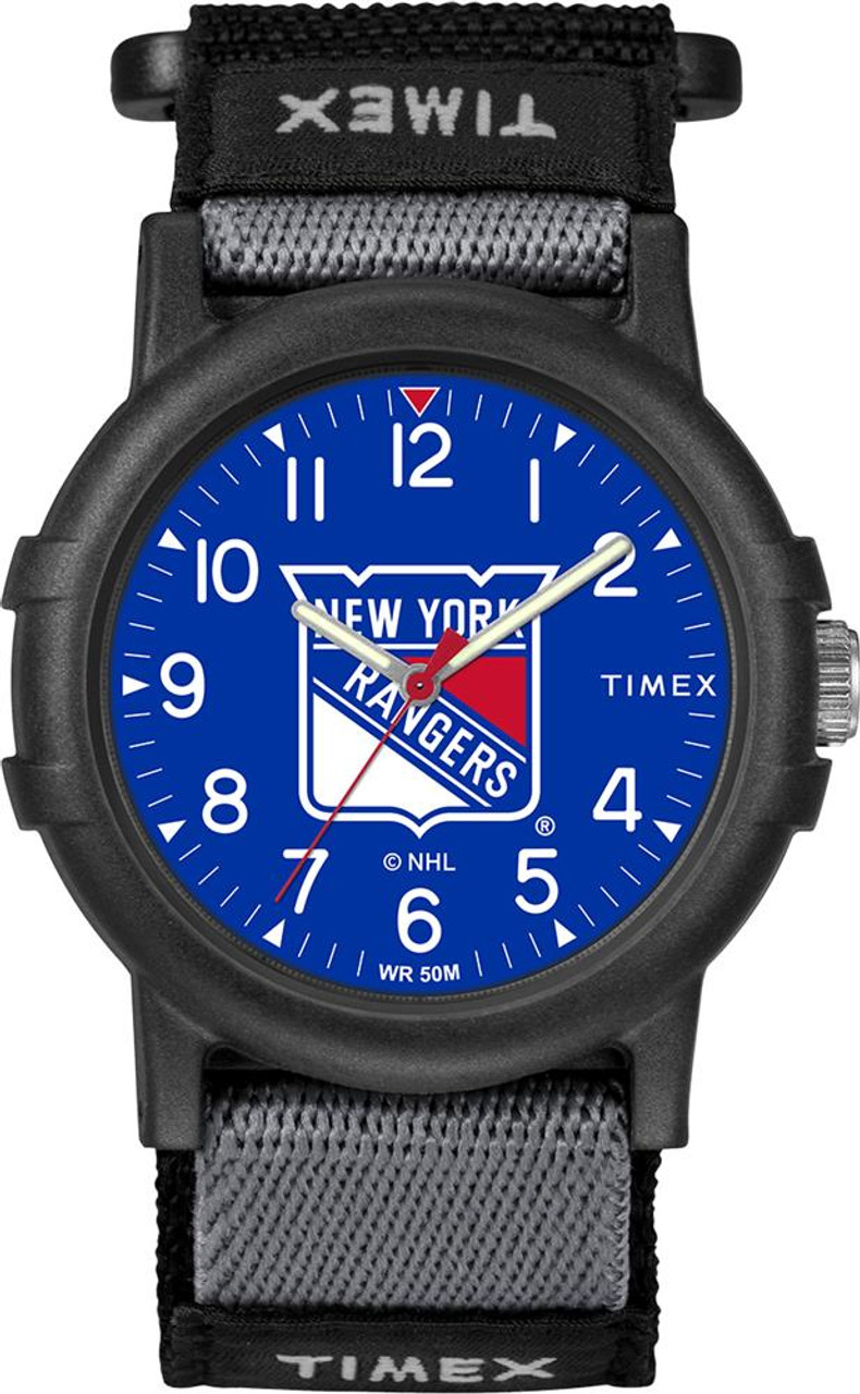New York Rangers NY Youth FastWrap Recruit Timex Watch