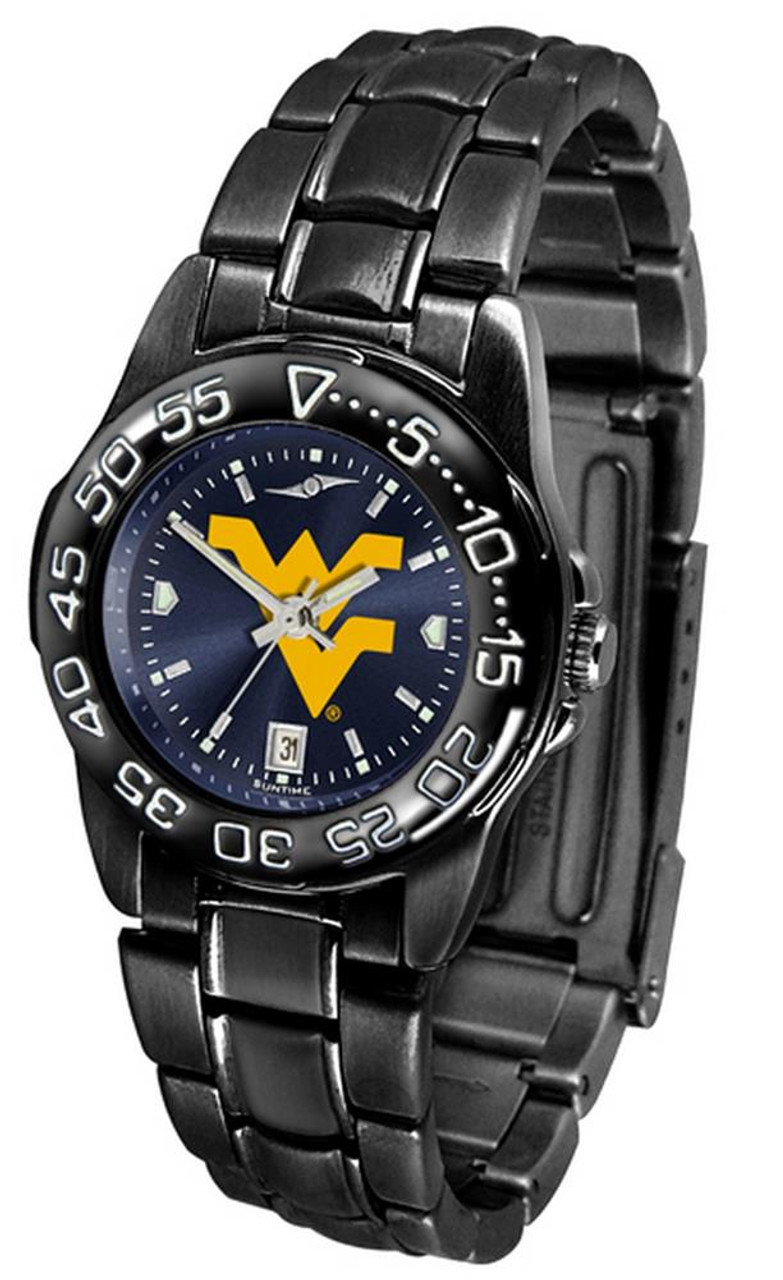 Women's West Virginia Mountaineers Black Watch Fantom AnoChrome