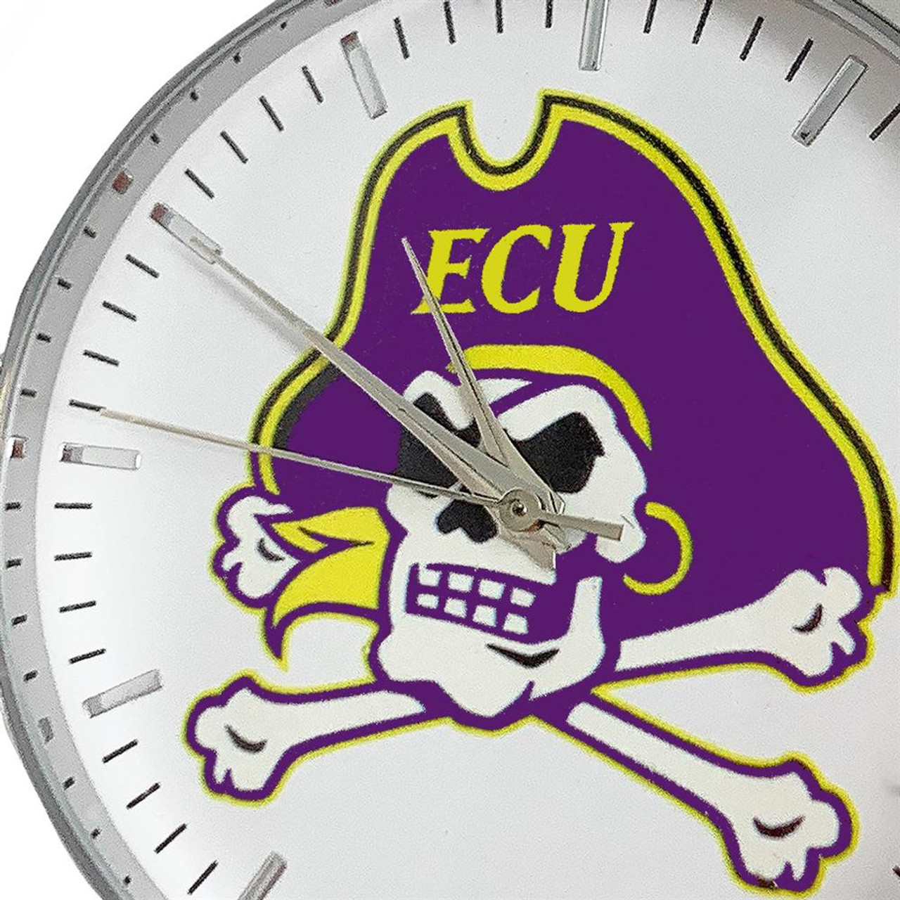 TCU Texas Christian Watch Silver Mesh Statement Wristwatch