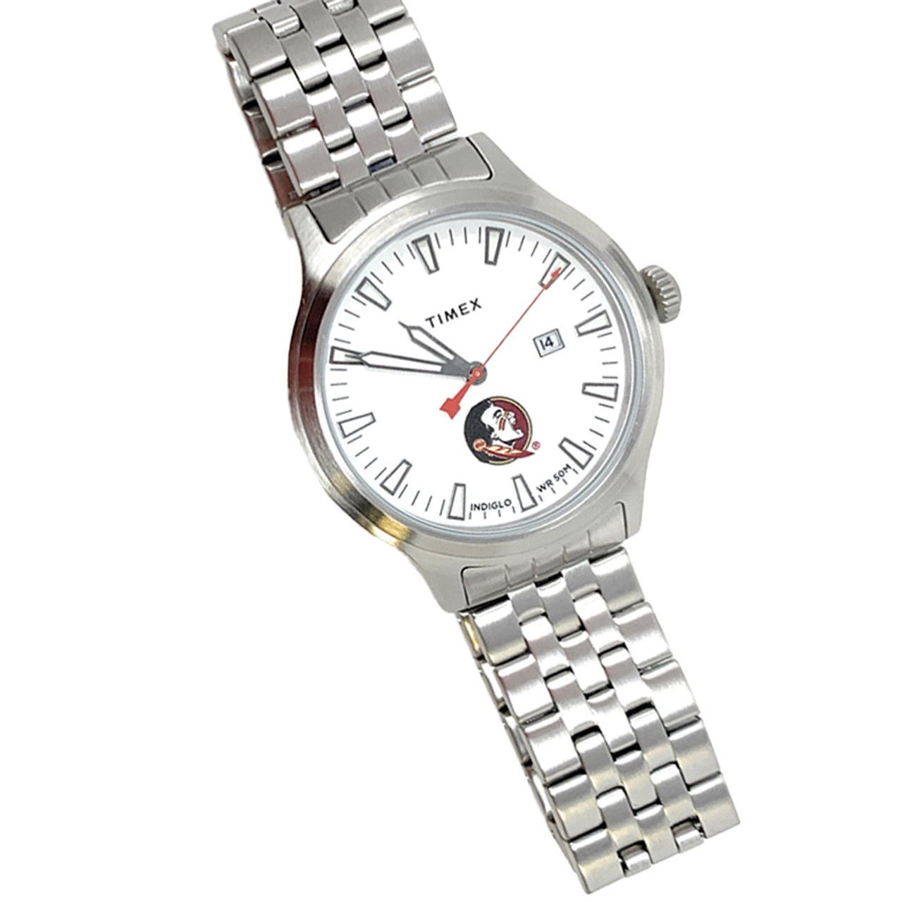Men's Pittsburgh Penguins Watch Stainless Steel Top Brass
