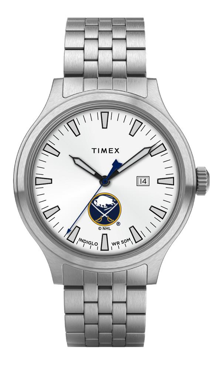 Men's Buffalo Sabres Watch Stainless Steel Top Brass