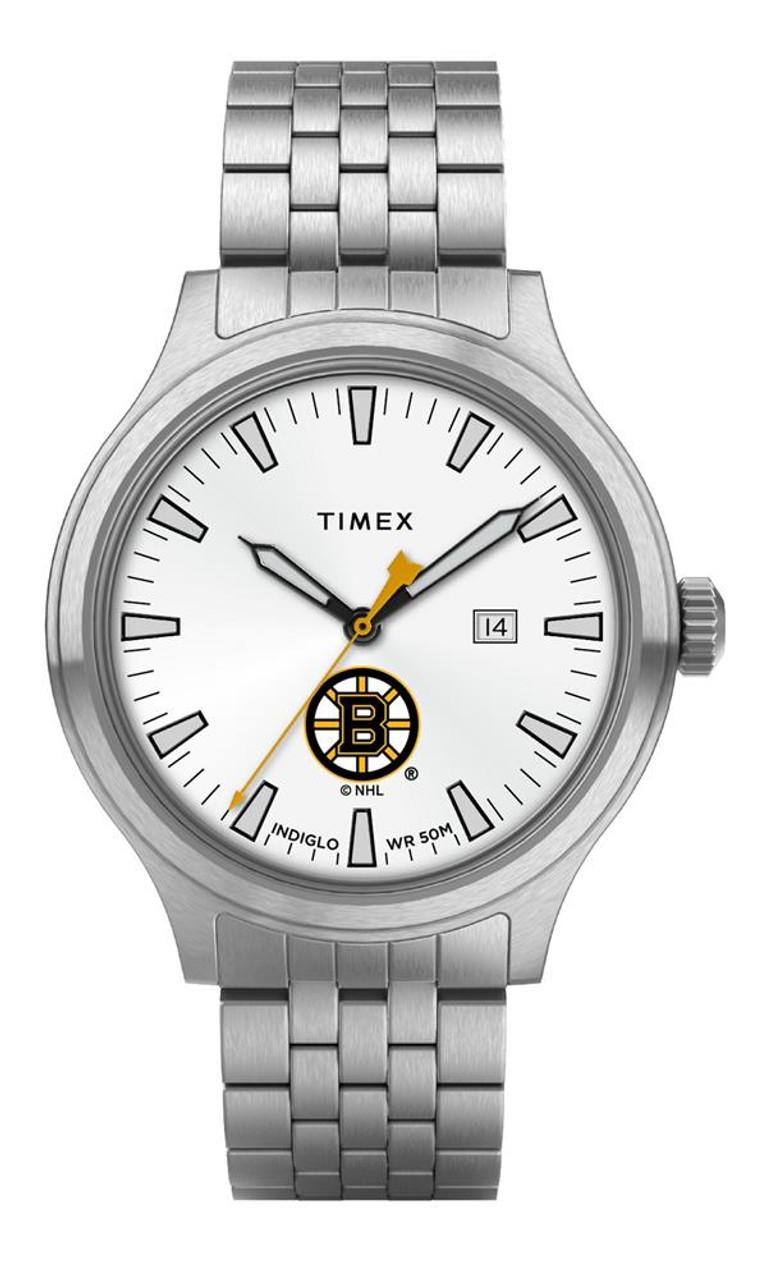 Men's Boston Bruins Watch Stainless Steel Top Brass