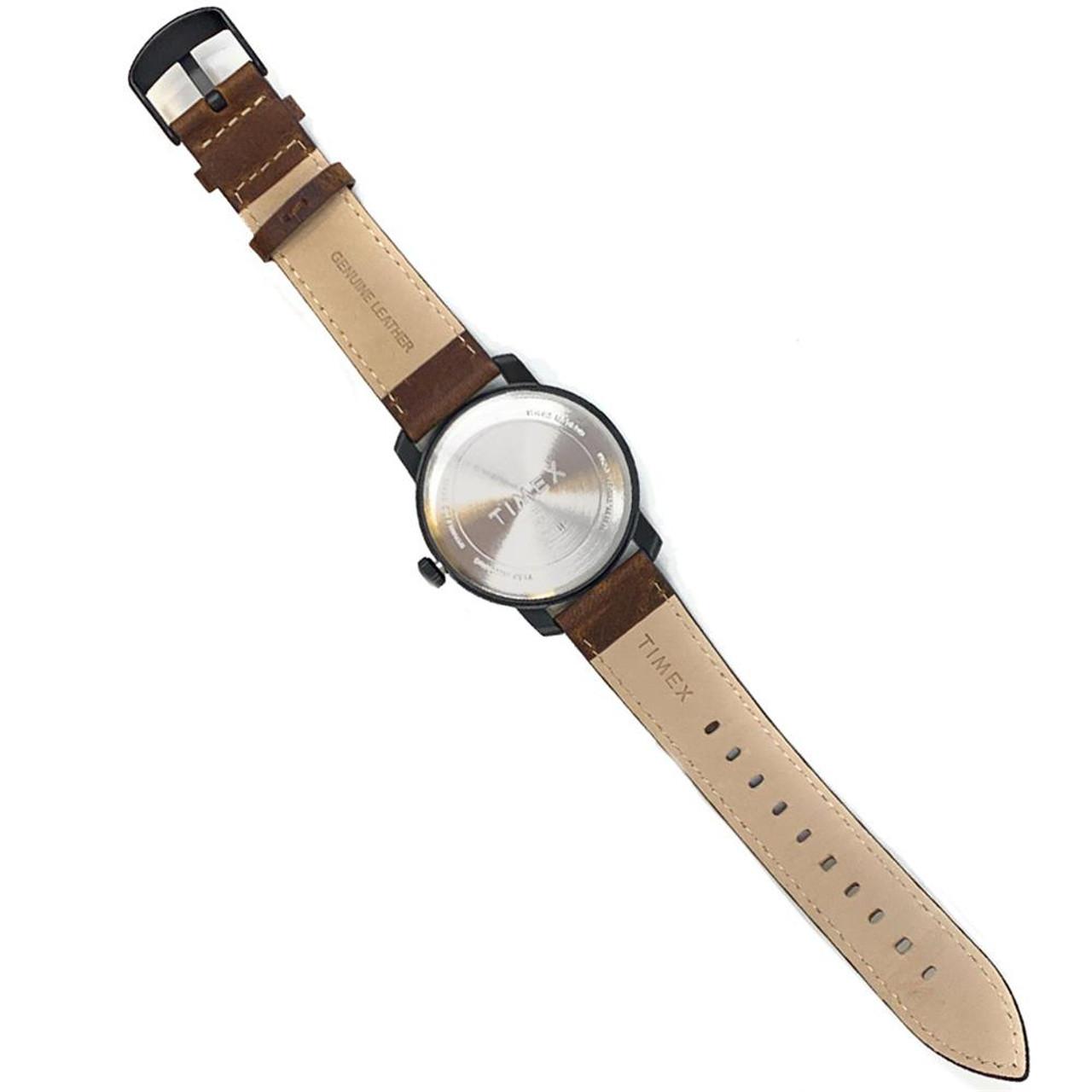 Men's Vegas Golden Knights Timex Watch Home Team Leather Watch