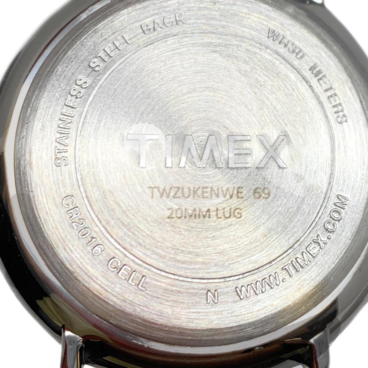 Womens Timex Arizona Wildcats Watch Bright Whites Leather