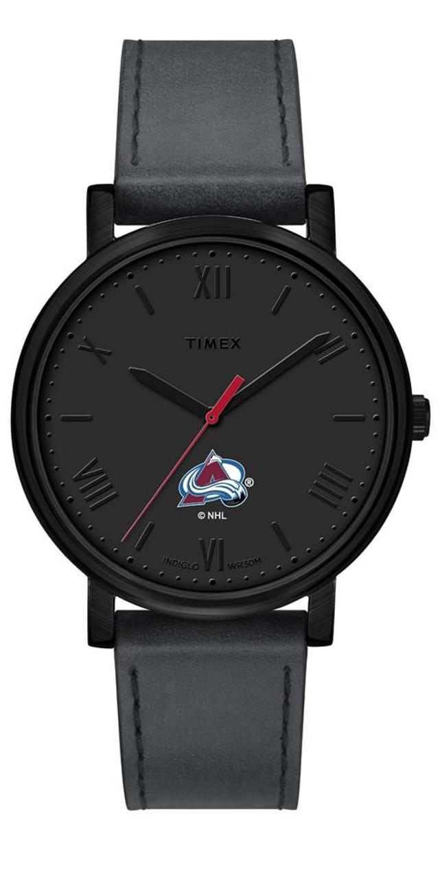 Ladies Timex Colorado Avalanche Watch Black Night Game Watch