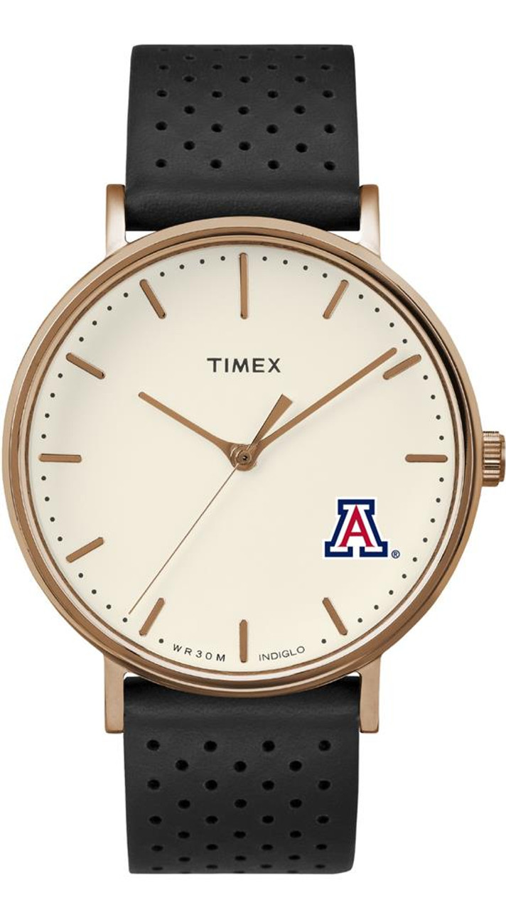 Ladies Timex Arizona Wildcats Watch Rose Gold Grace Watch