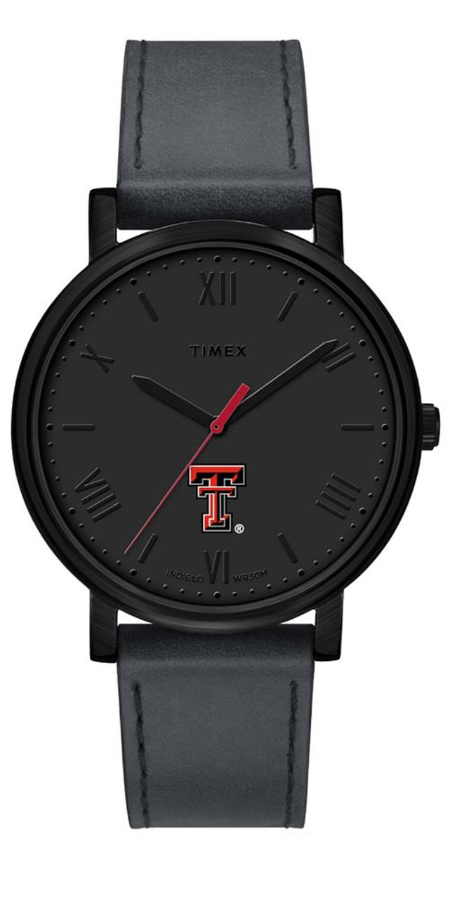 Ladies Timex Texas Tech University Watch Black Night Game Watch