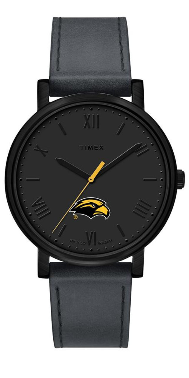 Ladies Timex Southern Miss USM Watch Black Night Game Watch