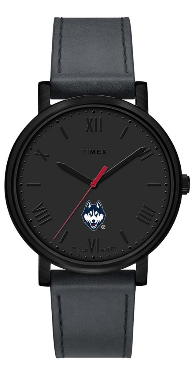 Ladies Timex UCONN Connecticut Huskies Watch Black Night Game Watch