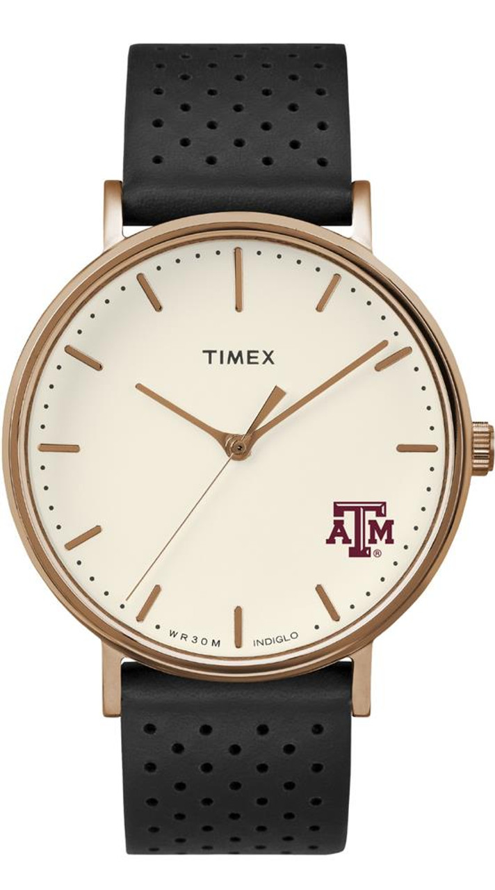 Ladies Timex Texas A&M Aggies Watch Rose Gold Grace Watch