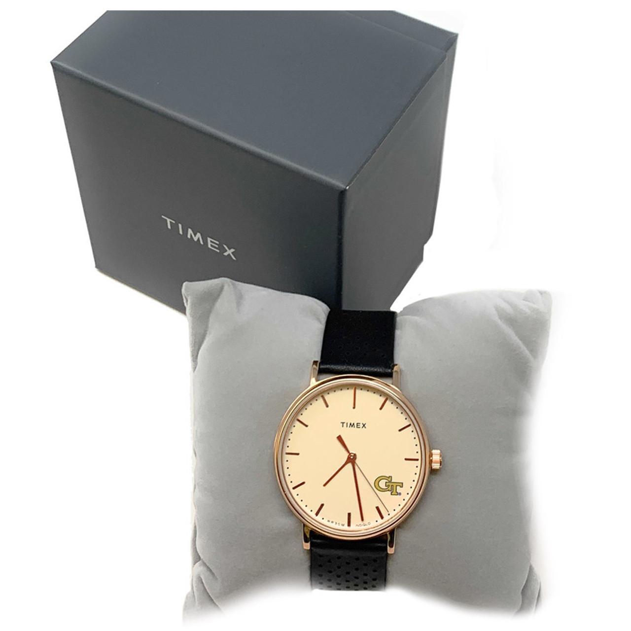 Ladies Timex TCU Texas Christian Watch Rose Gold Grace Watch