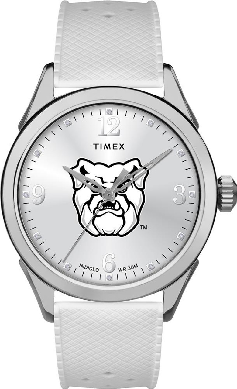 Butler University Ladies Silcone Athena Timex Watch