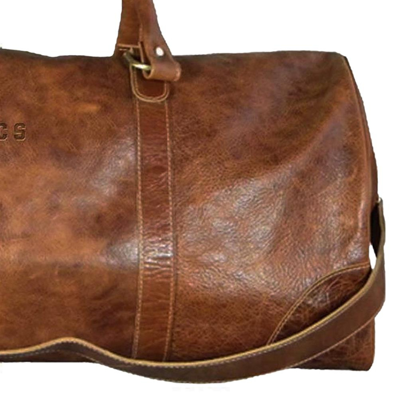 University of Florida Gators Duffel Bag Genuine Leather Duffel