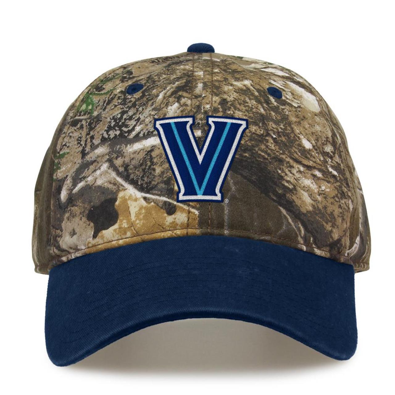 Villanova University Camo Hat Realtree Edge Camo Two-Tone Cap