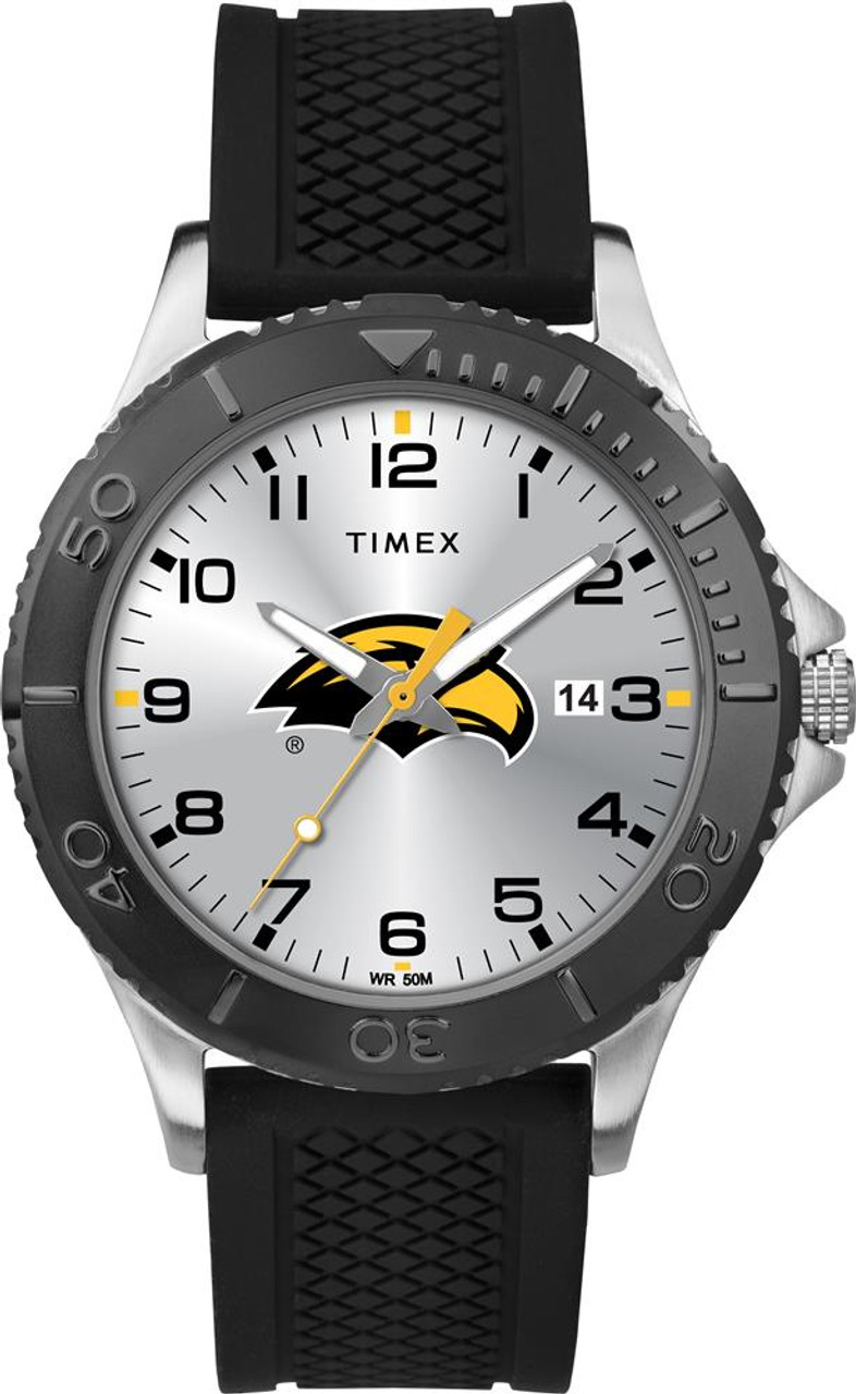 Men's Southern Miss USM Gamer Watch Timex Silicone Watch