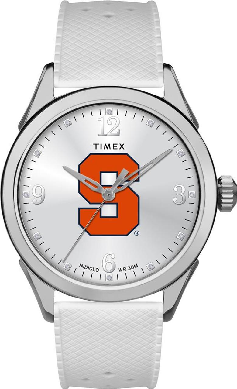 Syracuse University Ladies Silcone Athena Timex Watch
