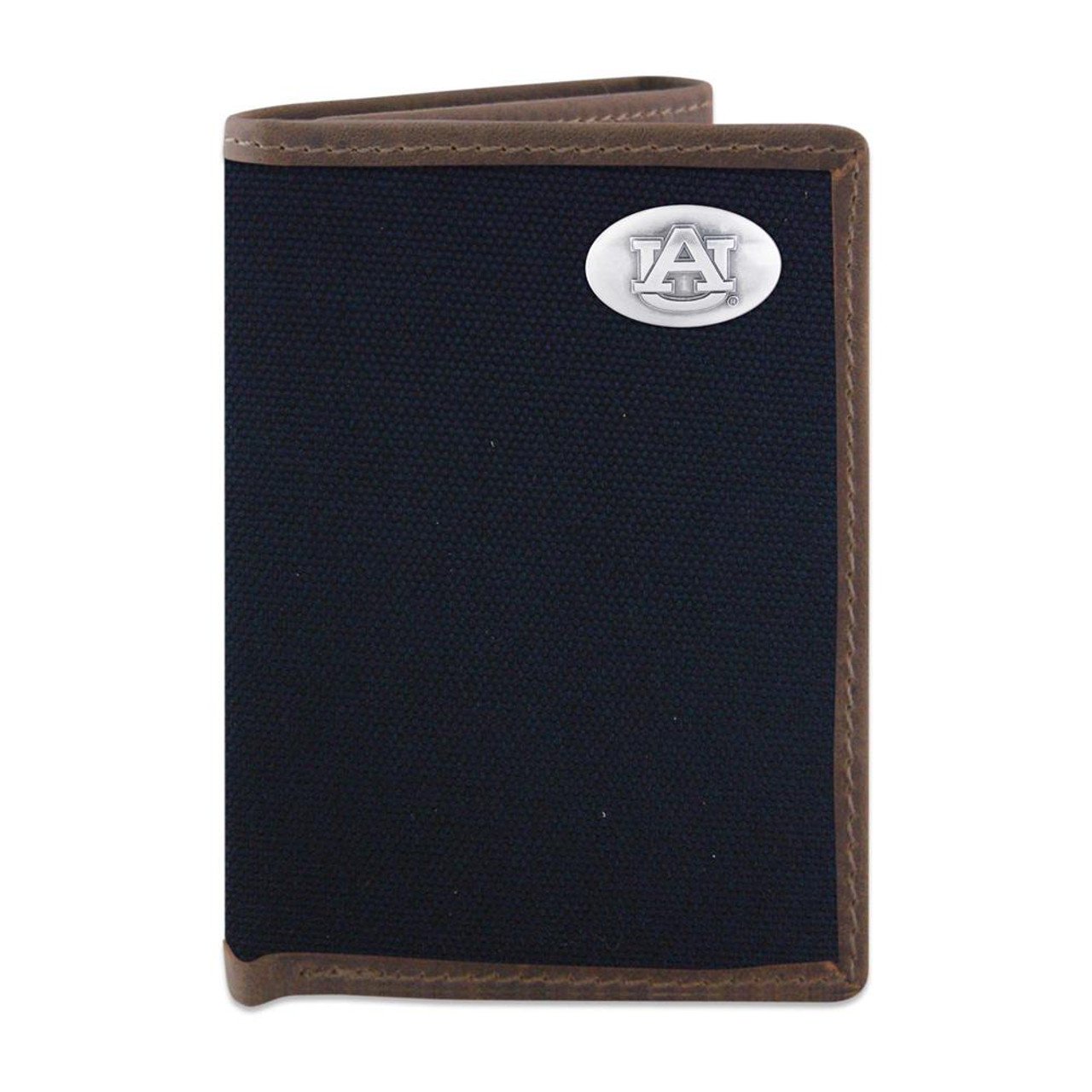 Youth Auburn University Tigers Wallet Nylon/Leather Concho Wallet