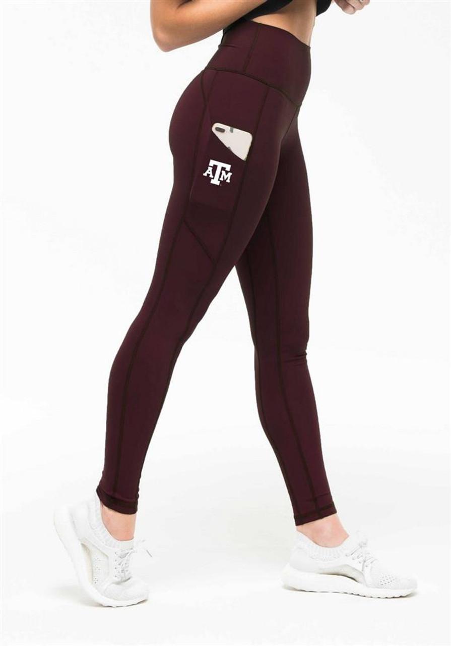 Women's Texas A&M Aggies Leggings Kadyluxe Pocket Leggings