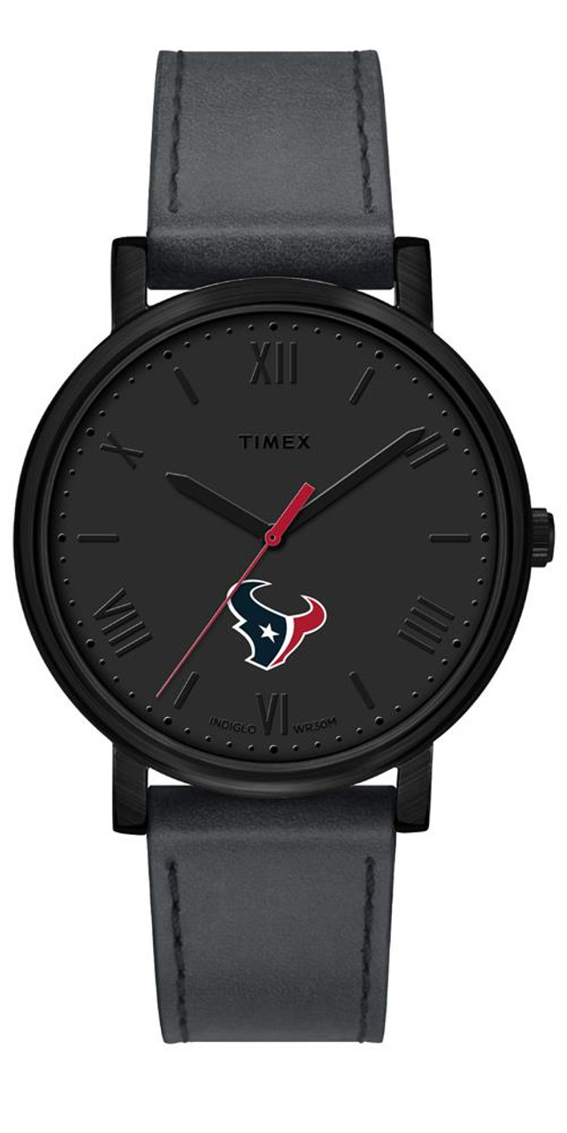 Ladies Timex Houston Texans Watch Black Night Game Watch
