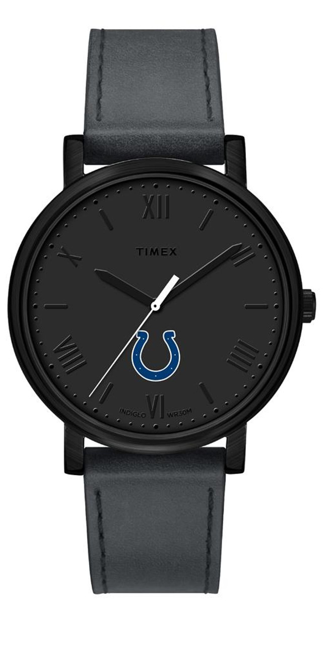 Ladies Timex Indianapolis Colts Watch Black Night Game Watch