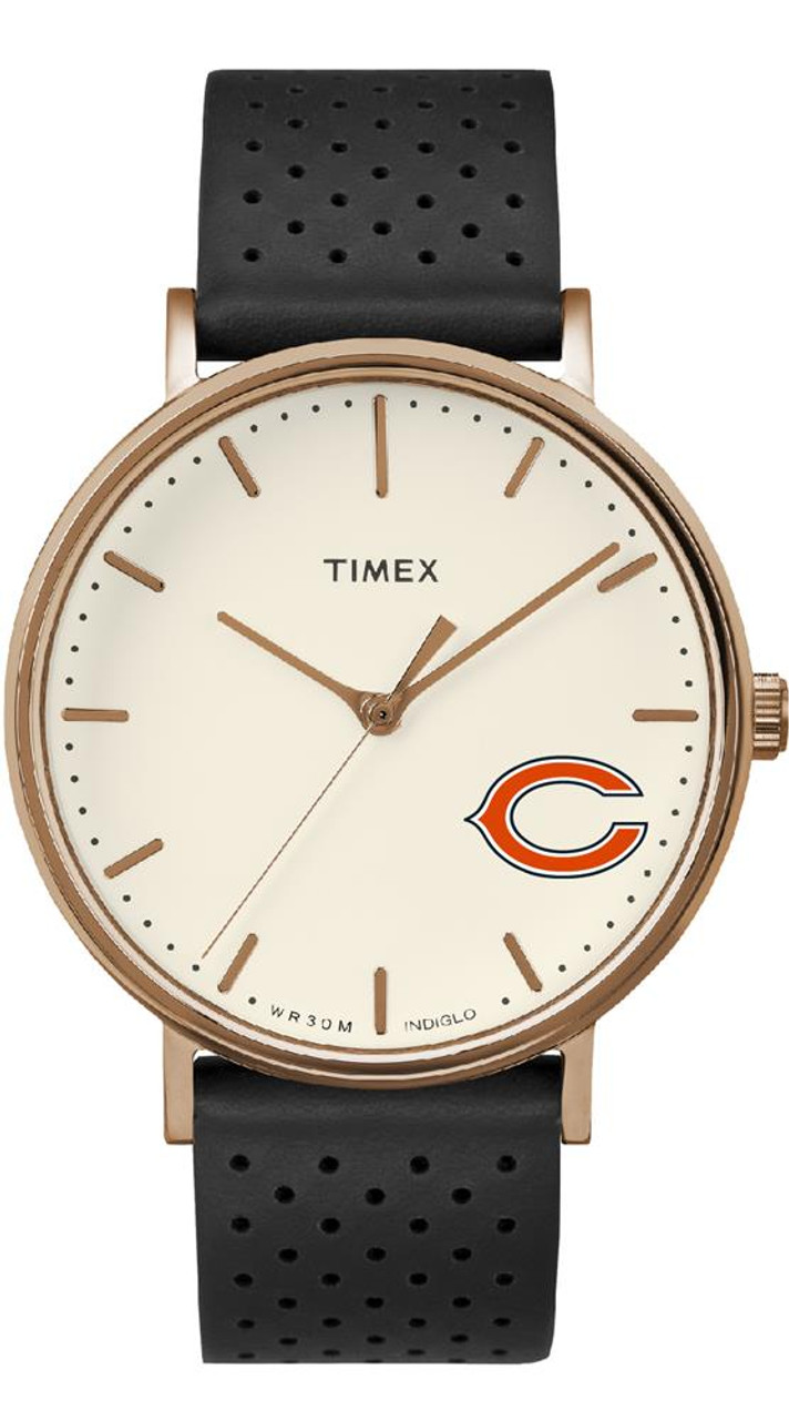 Ladies Timex Chicago Bears Watch Rose Gold Grace Watch