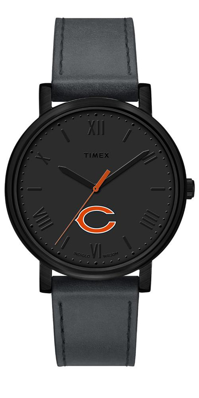 Ladies Timex Chicago Bears Watch Black Night Game Watch