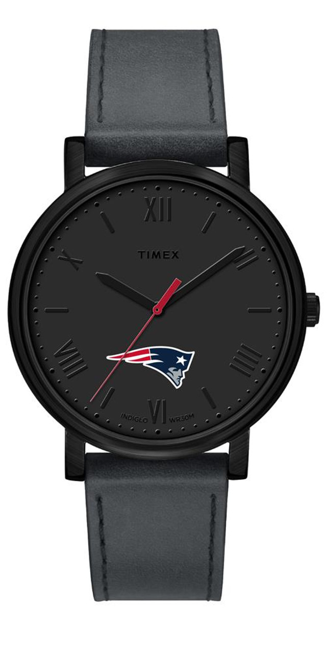 Ladies Timex New England Patriots Watch Black Night Game Watch