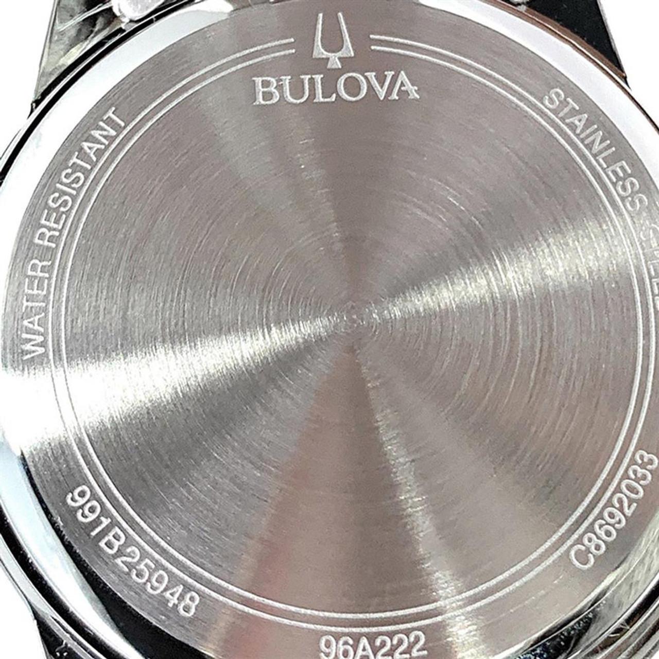 Women's Georgia Bulldogs UGA Watch Bulova Silver Circle II