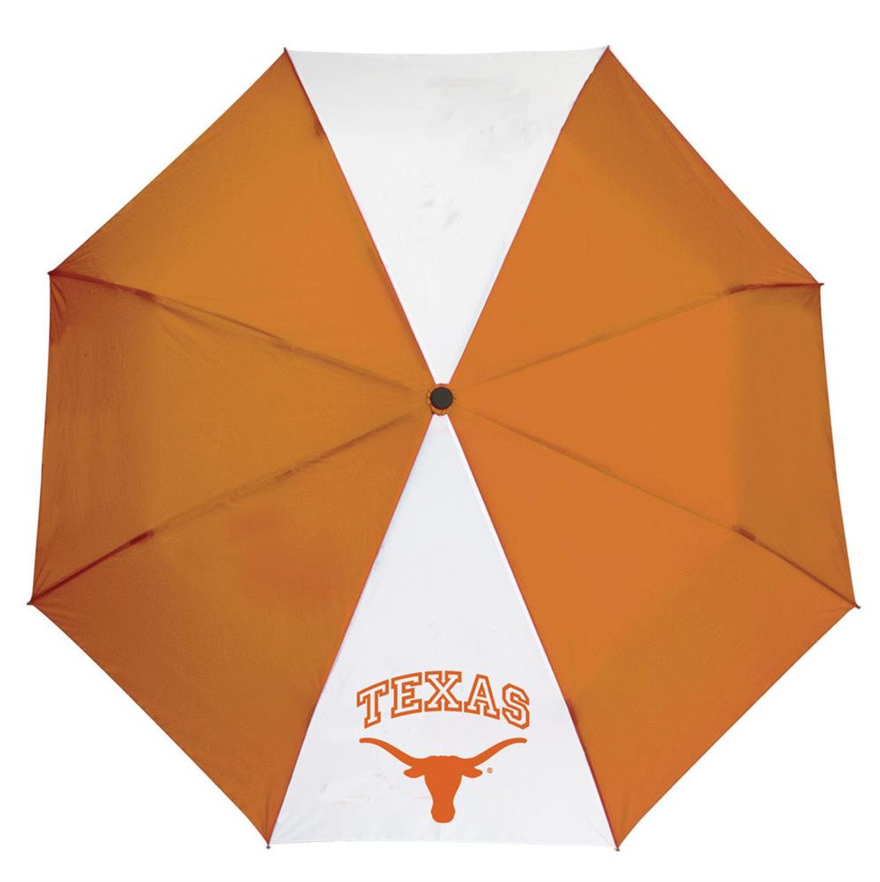 "University of Texas Longhorns Umbrella Auto Open 42"" Folding Umbrella"
