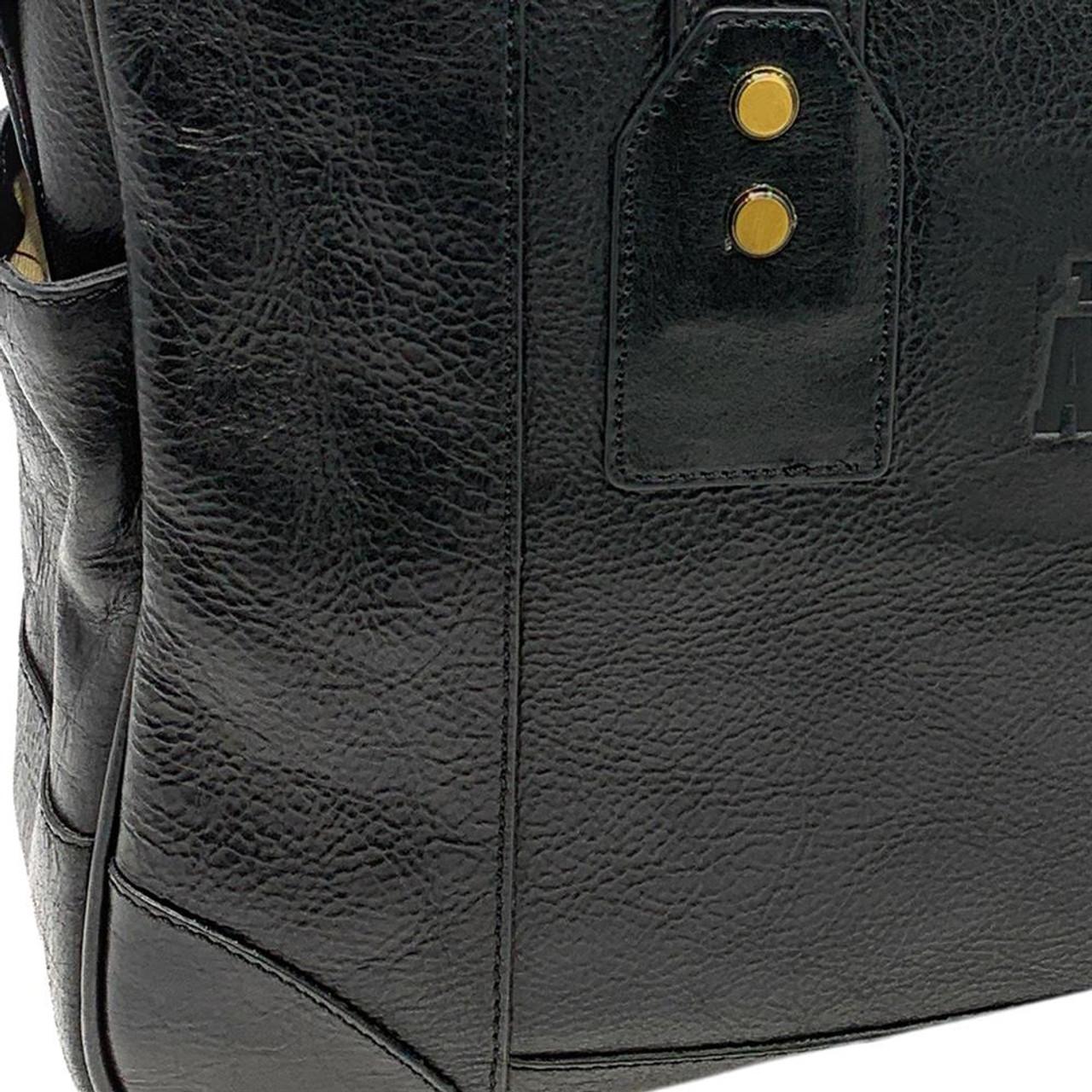 University of Florida Gators Business Case Black Genuine Leather
