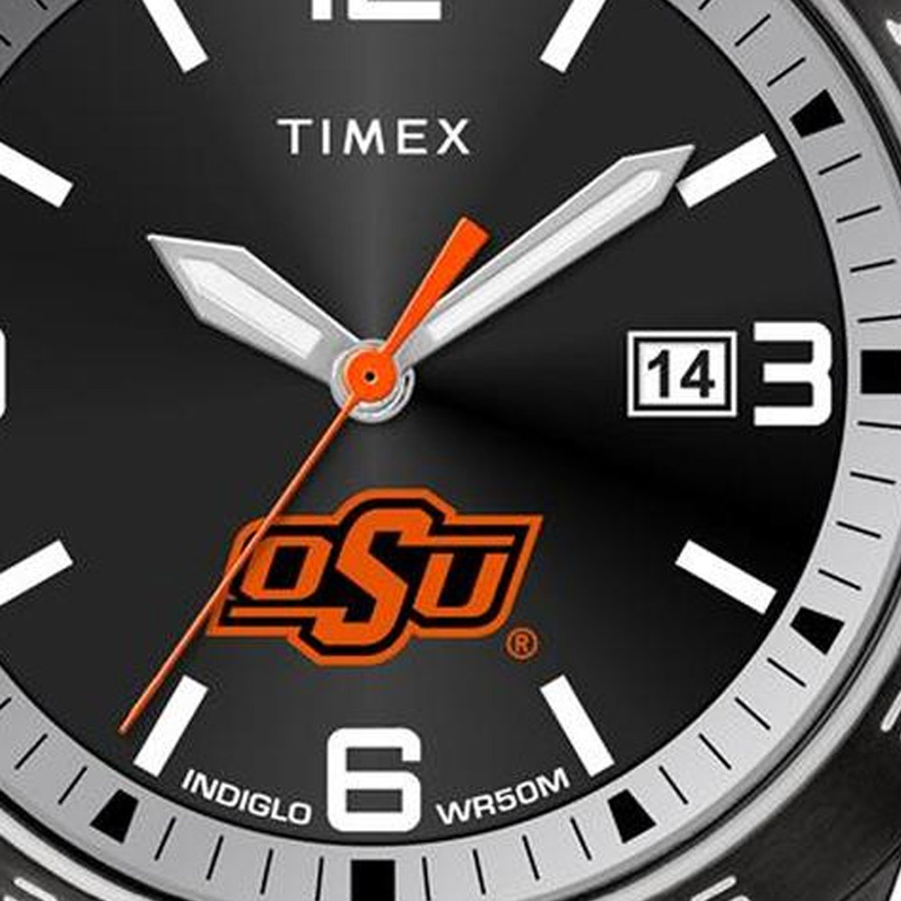 Florida Panthers Men's Black Acclaim Timex Watch