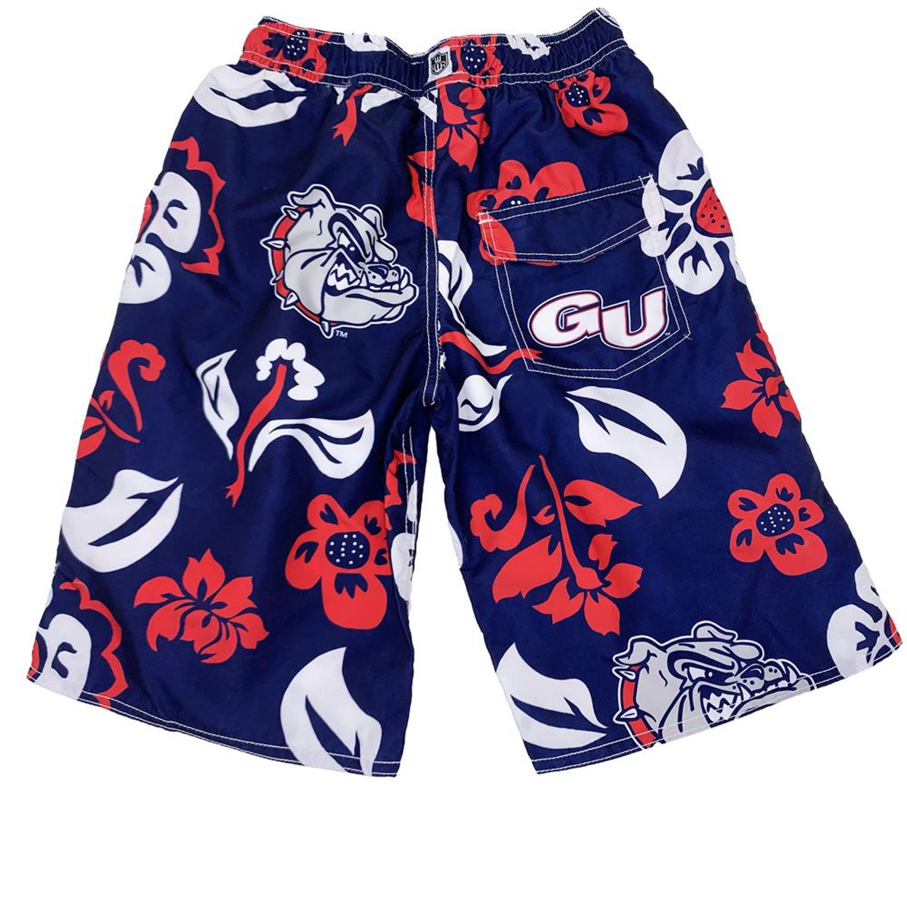 Youth Villanova University Swim Trunks Boys Floral Swim Shorts