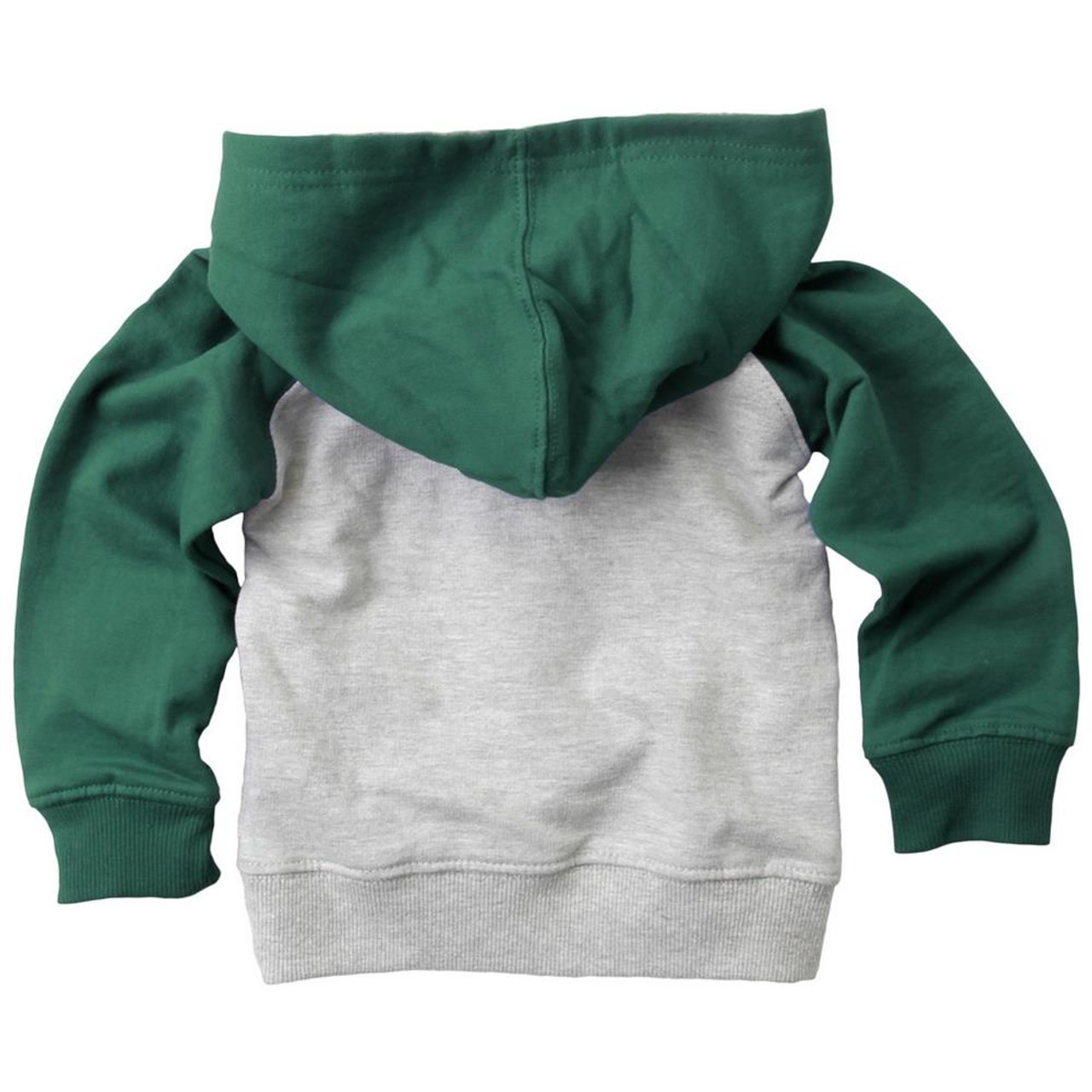 Infant/Toddler Raglan Michigan State University Hoodie and Pant Set
