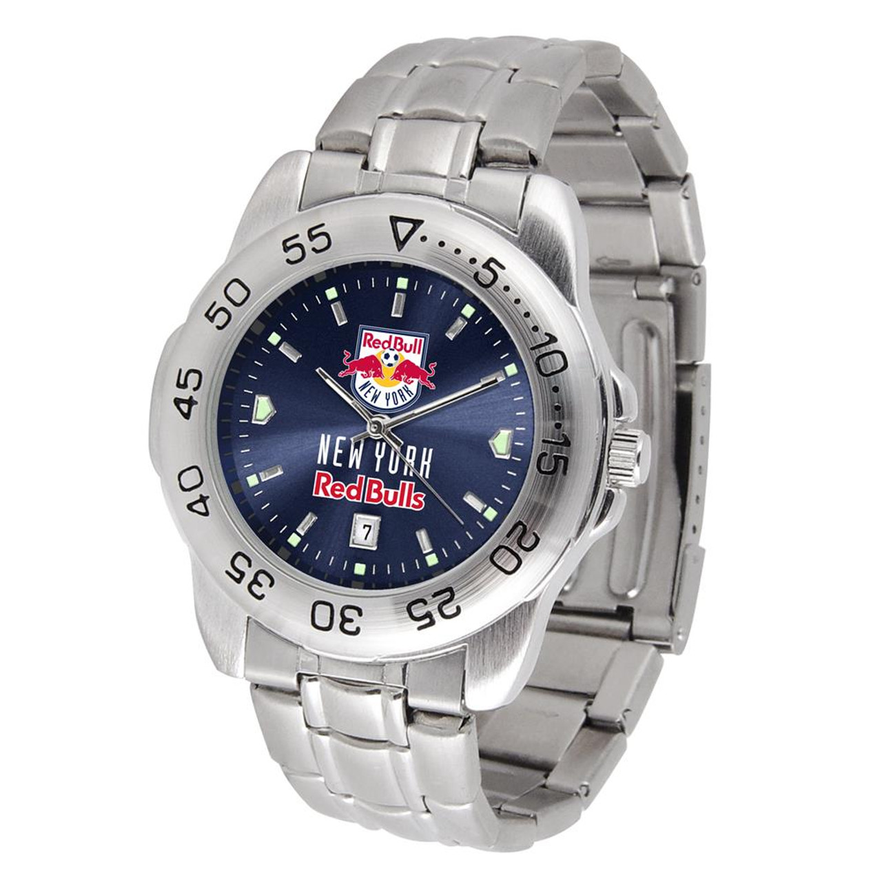 Men's New York Red Bulls Sport Watch Stainless Steel Watch