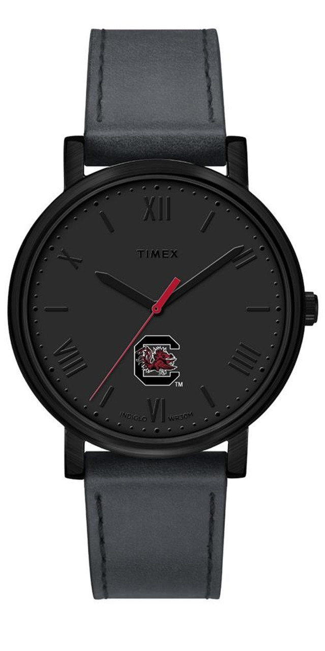 Ladies Timex South Carolina Gamecocks Watch Black Night Game Watch