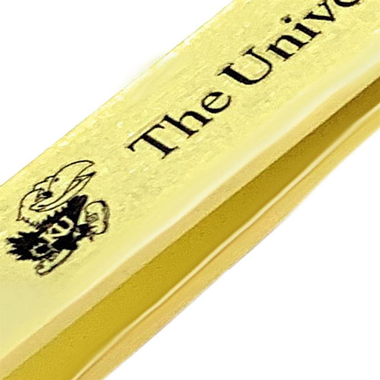 Naval Academy Navy Tie Clip Gold Tie Bar Gift Set