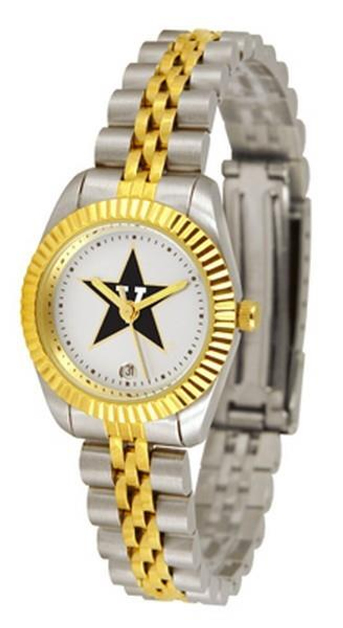 Vanderbilt University Vandy Ladies Two-Tone Dress Watch