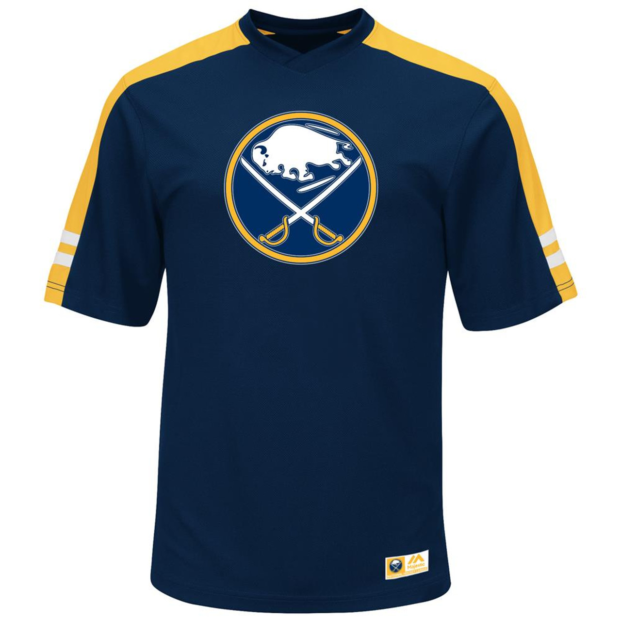 Men's Buffalo Sabres Synthetic V-Neck Tee