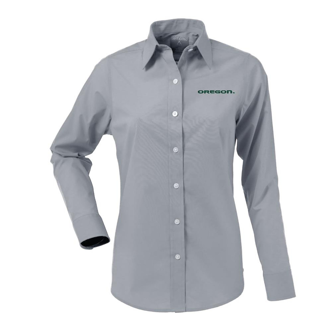 University of Oregon Ducks Women's Long Sleeve Dress Shirt
