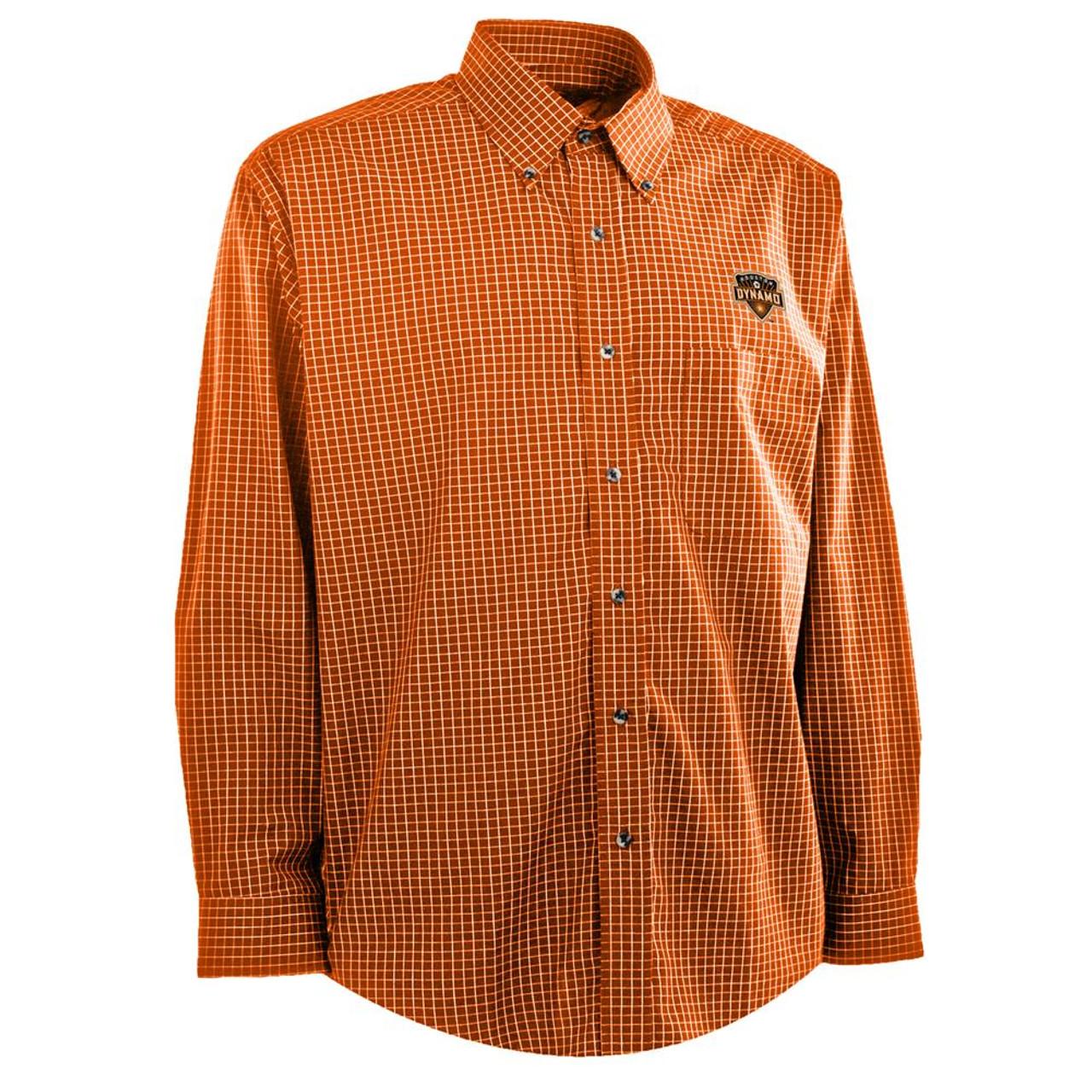 Men's Houston Dynamo Woven Esteem Button Up Shirt