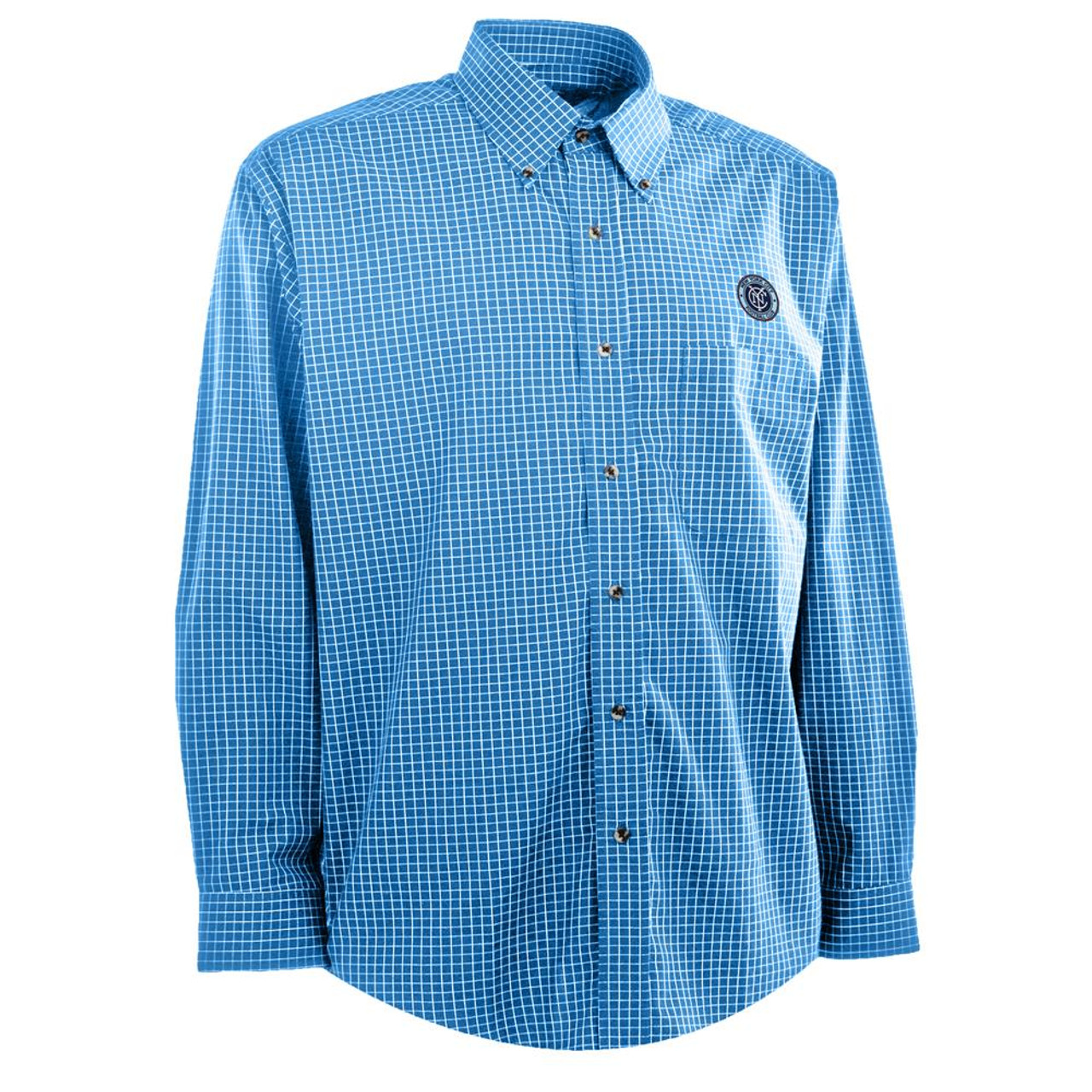 Men's New York City FC Woven Esteem Button Up Shirt